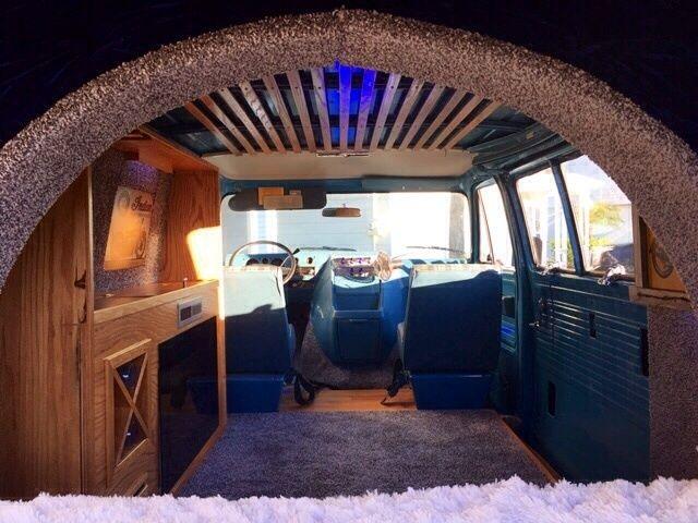 1978 chevrolet custom van time capsule custom interior super clean classic. Black Bedroom Furniture Sets. Home Design Ideas