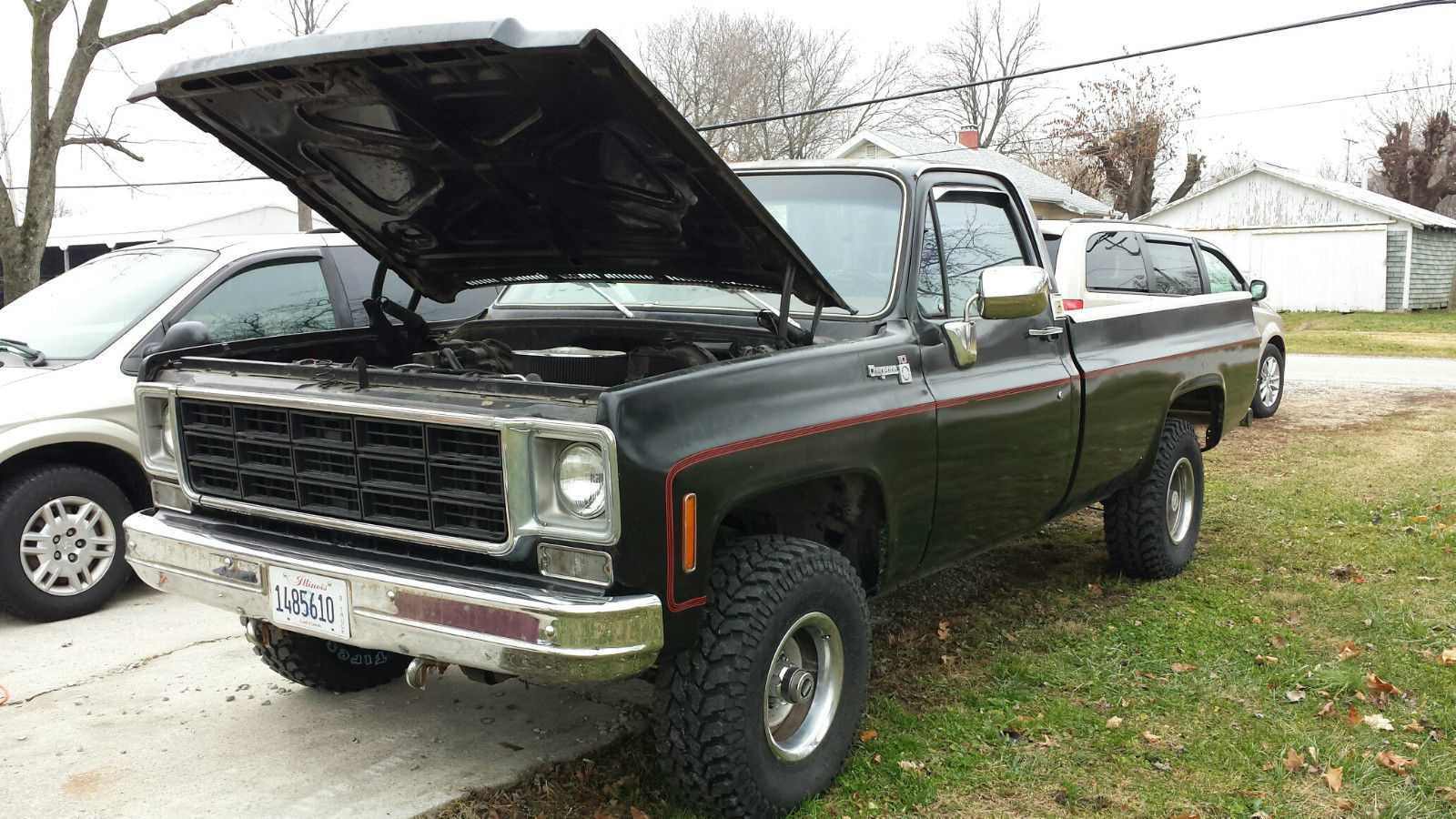 1978 chevrolet k10 4x4 v8 pickup nr