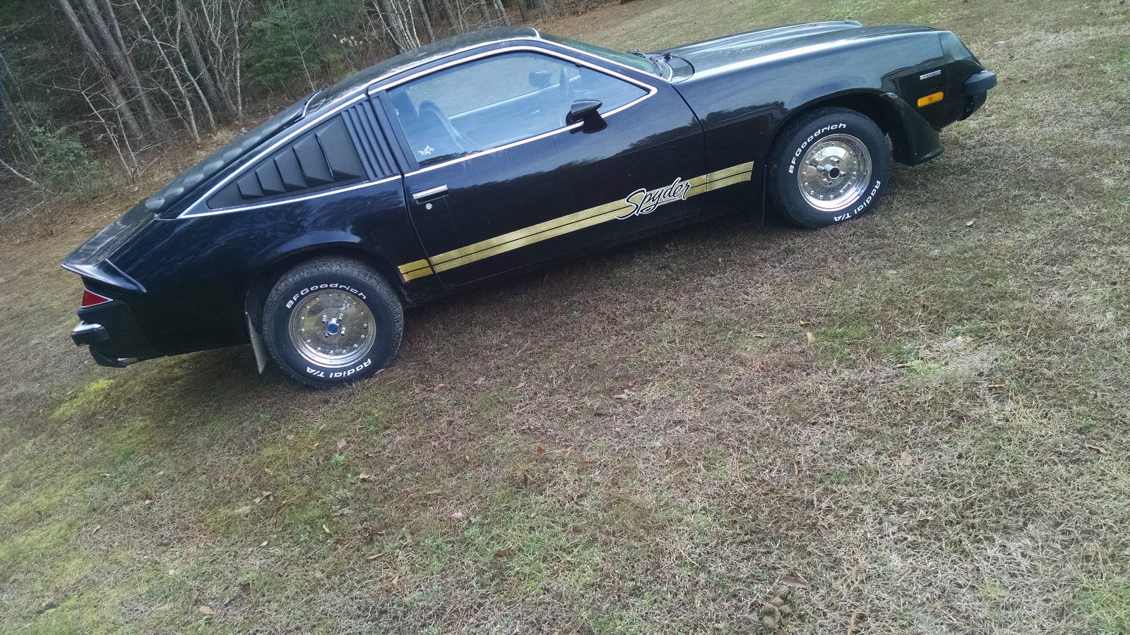 1978 Chevrolet Monza Spyder - Black - Classic Chevrolet Other 1978 for sale