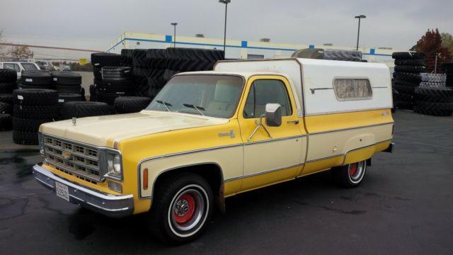 1978 Chevrolet Silverado Big 10 100 Rust Free California Truck 75k