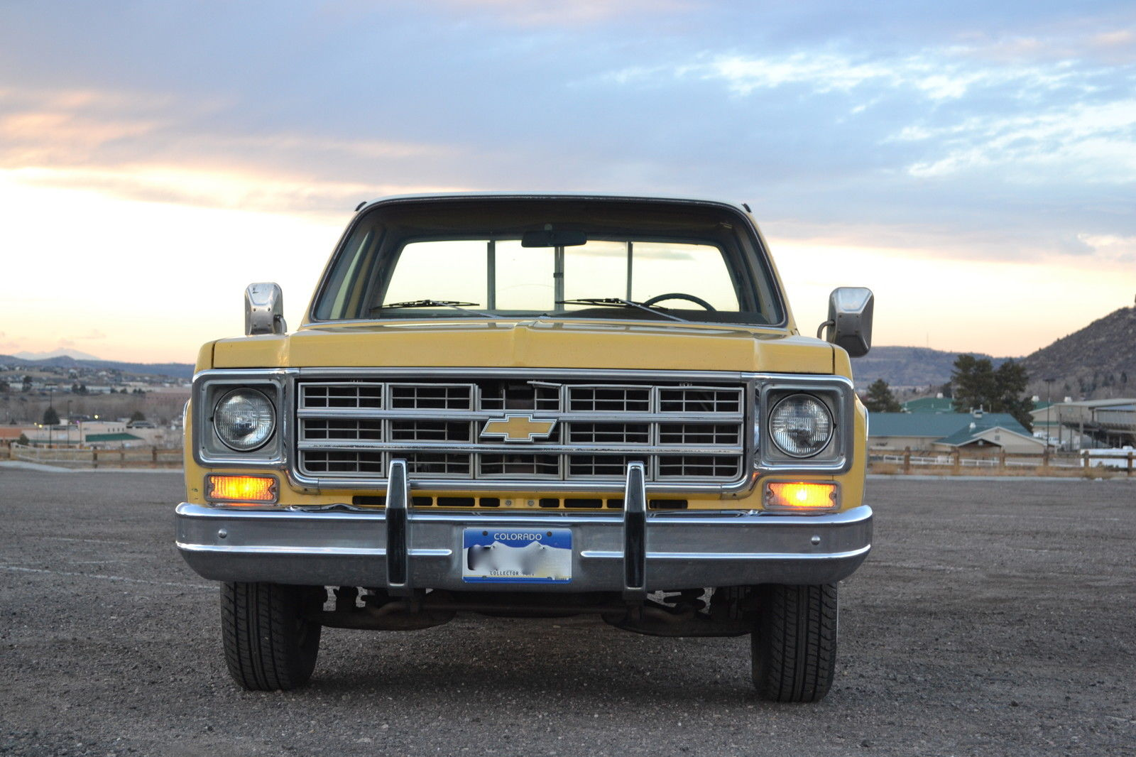 1978 chevrolet silverado c10 classic yellow shipping beige seller cars private air