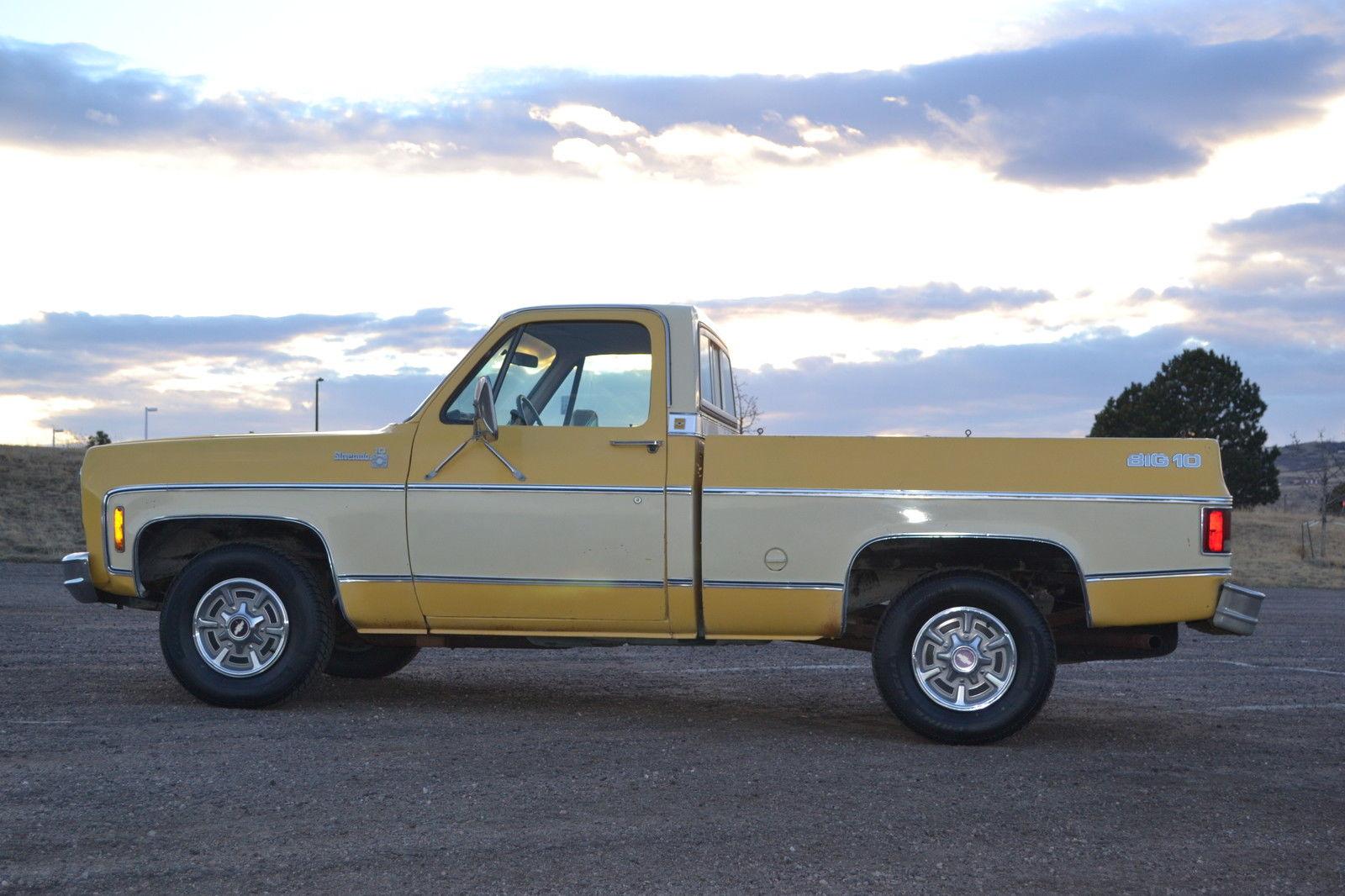 1978 Chevrolet Silverado BIG 10, FREE SHIPPING, all original, classic, c10, - Classic Chevrolet ...