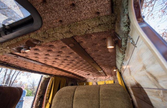 1978 Chevrolet Van Time Capsule Van Craze Custom Interior ...