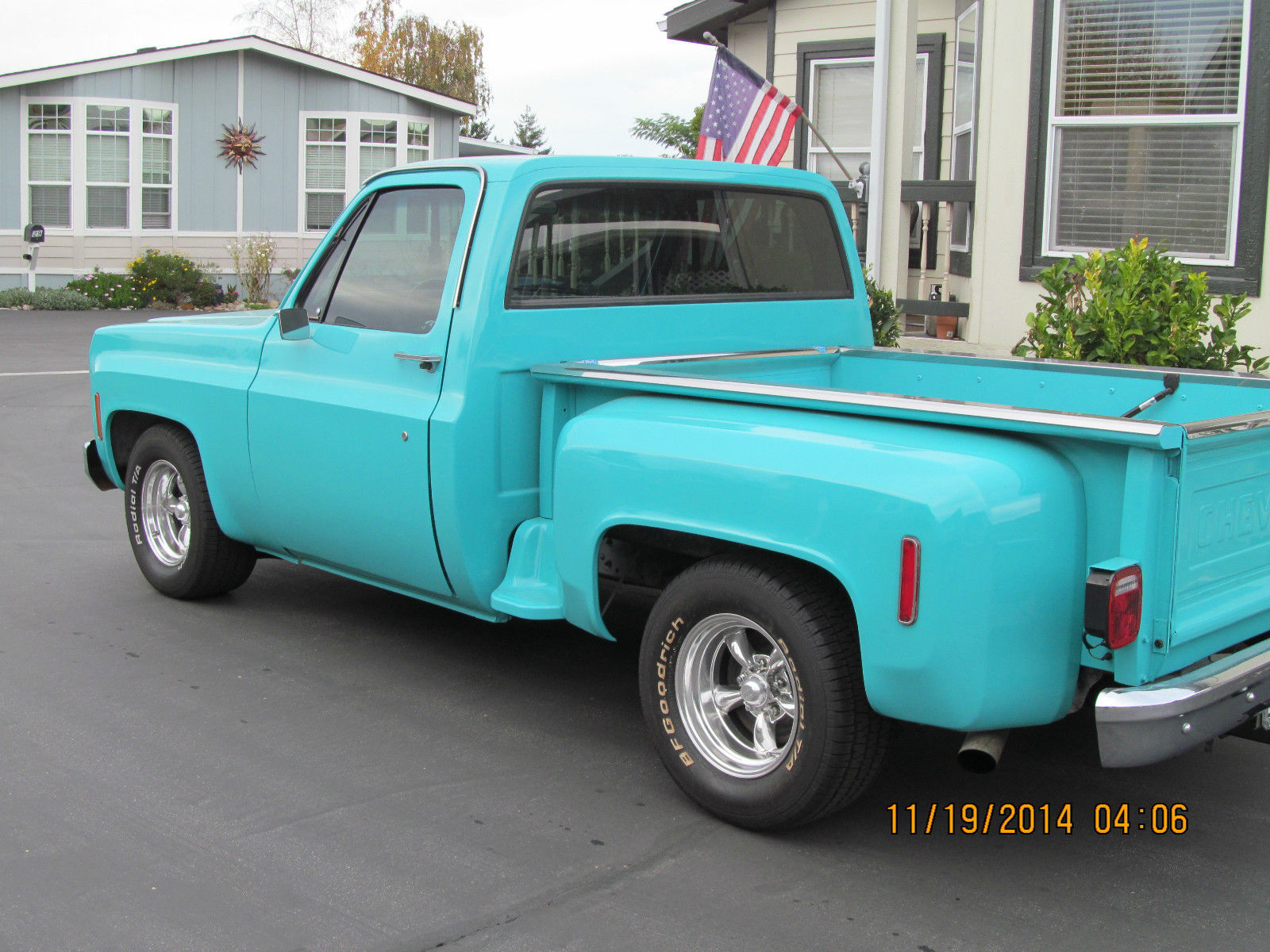 1978 chevy c10 stepside classic chevrolet c 10 1978 for sale. Black Bedroom Furniture Sets. Home Design Ideas