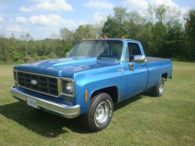 1978 Chevy Cheyenne Big 10 2nd Owner Classic Chevrolet Cheyenne