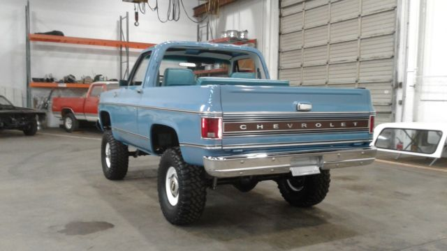 1978 Chevy K5 Blazer 4x4 Restored 350 4v At Ps Pb Hard Top