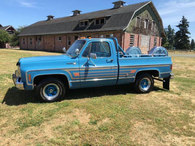 1978 chevy pickup colors