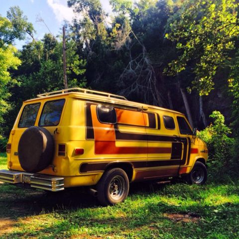 1978 chevy zimmer vintage custom boogie van classic chevrolet g20 van 1978 for sale. Black Bedroom Furniture Sets. Home Design Ideas
