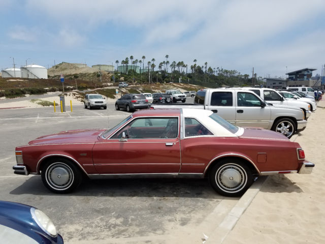 1978 Chrysler Lebaron Excellent Condition Only 79 000