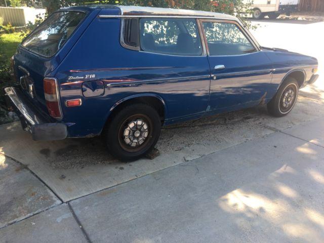 1978 Datsun F10 2 Door Cherry Wagon - Classic Datsun Other