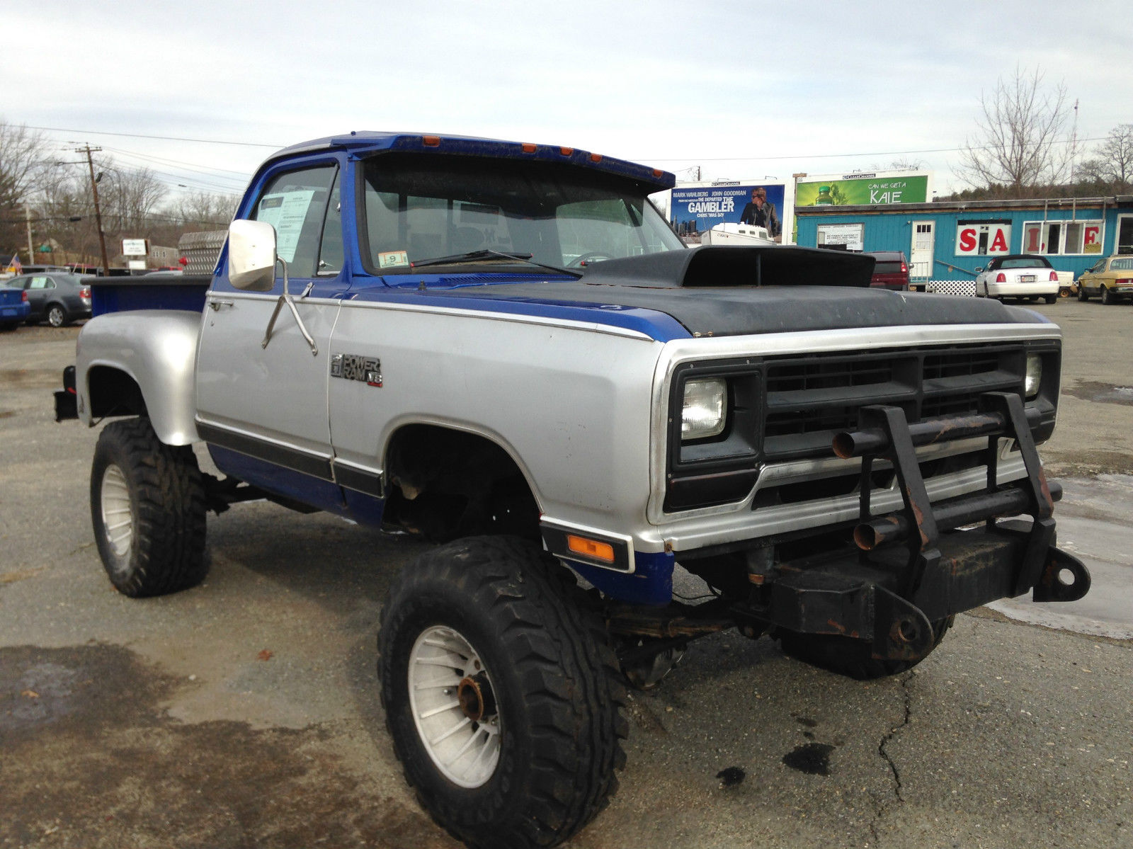 1978 Dodge 4X4 D100 Pickup Lifted Modified Customized and