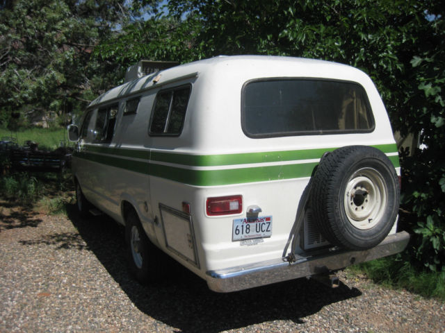1978 dodge b300 xplorer camper van rv classic dodge other 1978 for sale. Black Bedroom Furniture Sets. Home Design Ideas