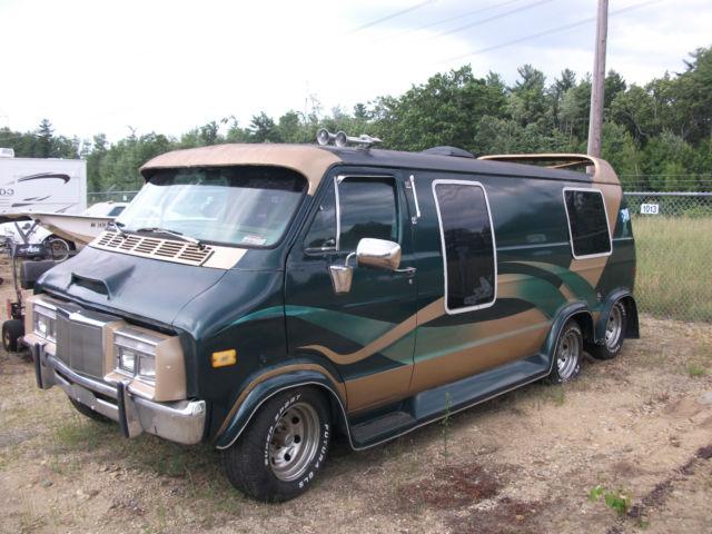 1978 dodge custom 6 wheel van classic dodge ram van 1978 for sale. Black Bedroom Furniture Sets. Home Design Ideas