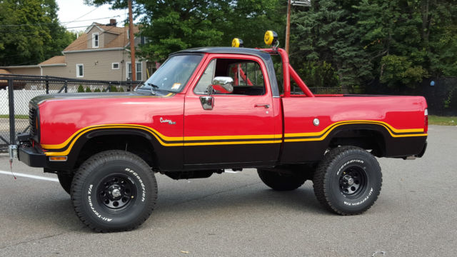 Rhino Truck Bed Liner >> 1978 Dodge Macho Power Wagon - Classic Dodge Power Wagon
