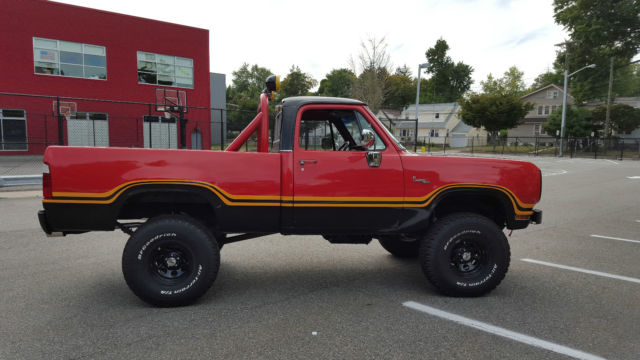 1978 Dodge Macho Power Wagon - Classic Dodge Power Wagon 1978 for sale