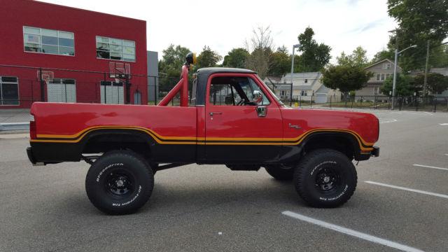 1978 Dodge Macho Power Wagon - Classic Dodge Power Wagon ...