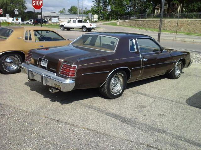 1978 Dodge Magnum Xe Coupe 2-door 6 6l