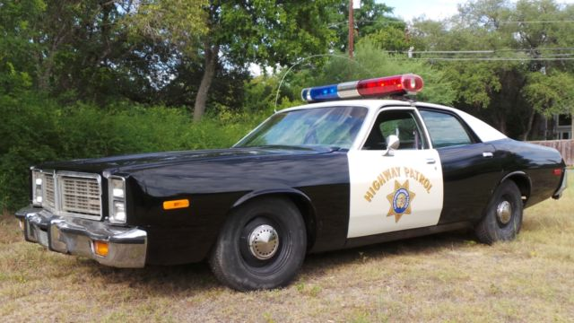 1978 Dodge Monoco Chp Highway Patrol Car Police Car