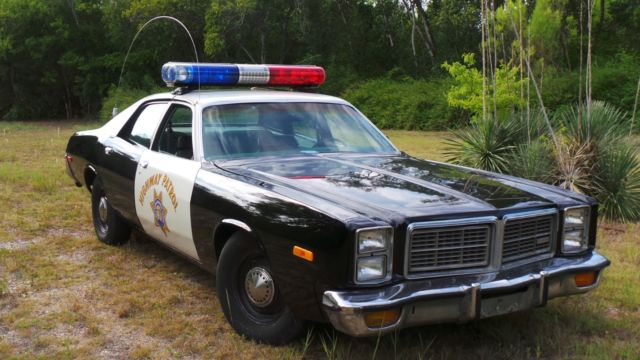1978 dodge monoco chp highway patrol car police car chip 39 s very nice classic dodge monaco. Black Bedroom Furniture Sets. Home Design Ideas