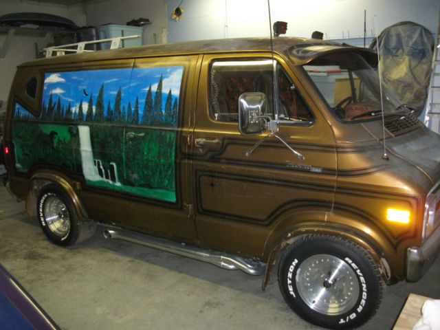 1978 Dodge Van Custom Shorty Classic Dodge Ram Van 1978
