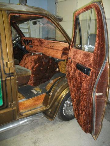 1978 Dodge Van Custom Shorty Classic Dodge Ram Van 1978