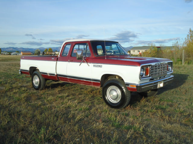 78 dodge truck wiring 1978 dodge w200 power wagon club cab 4x4 adventurer high #2