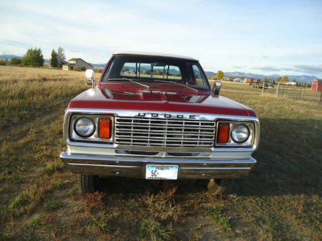 1978 Dodge W200 Power Wagon Club Cab 4x4 Adventurer High