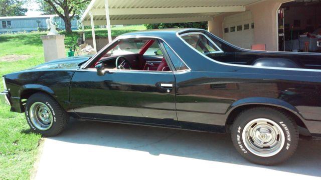1978 El Camino Super Sport Classic Chevrolet El Camino