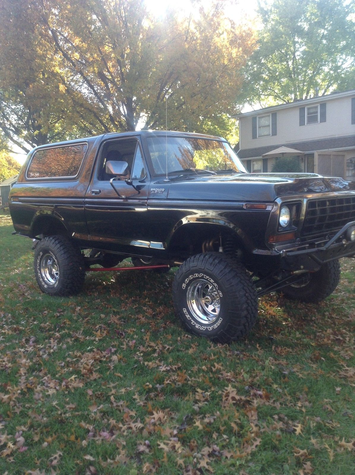 1978 Ford Bronco 4WD Excellent Condition With 523 CID Big ...