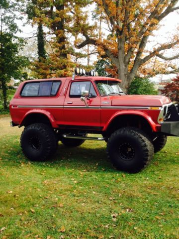 Classic Ford Bronco For Sale >> 1978 Ford Bronco Custom BIG BLOCK - Classic Ford Bronco 1978 for sale
