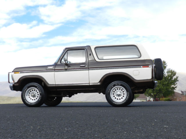 Ford Bronco F X Tone Original Body Solid Winter Is Here on Ford F 150 Power Steering