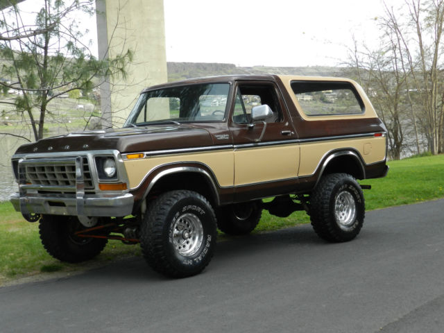 1978 Ford bronco f150 4x4 original paint and body rare for ...