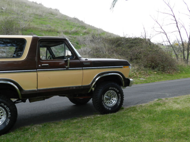 1978 ford bronco f150 4x4 original paint and body rare for the year