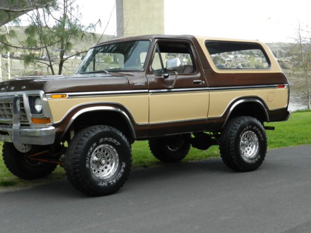 1978 Ford Bronco F150 4x4 Original Paint And Body Rare For