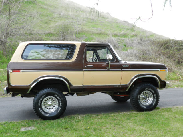 1978 Ford bronco f150 4x4 original paint and body rare for ...