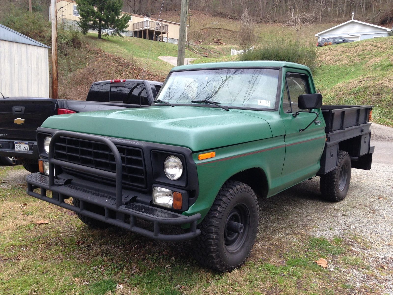 1978 Ford F 100 Pickup 66l 400 Modified 4x4 Positive Traction 1955 F100 Pro Street