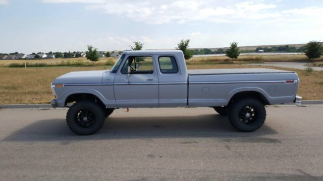 1978 Ford F 150 Supercab Lifted 4x4 Longbed Ranger 76 77