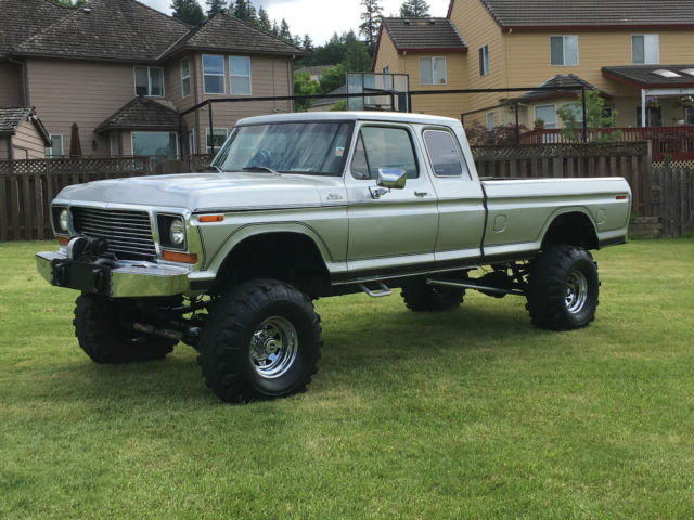 1978 Ford F 250 4x4 Super Cab Lifted Dana 60 Rear Amp Front