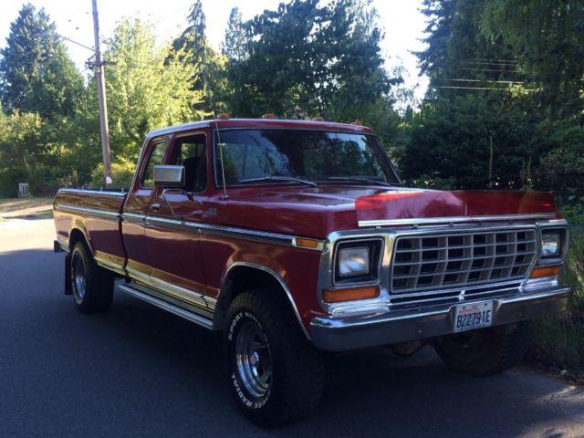 1978 ford f 250 super cab 4x4 highboy 4wd pick up truck hi boy hi