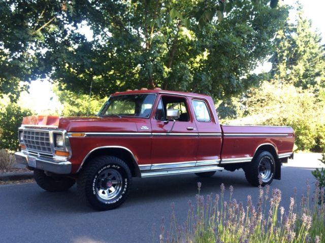 Used Cars Seattle >> 1978 Ford F-250 Super Cab 4x4 HighBoy 4wd pick up truck Hi-boy Hi boy 77 76 79 - Classic Ford F ...