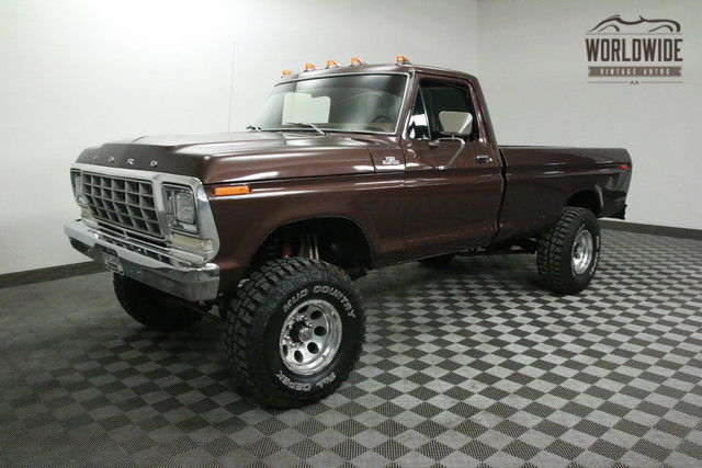 1978 Ford F150 4x4 Frame Off Restored 460 V8 Classic Ford F 150