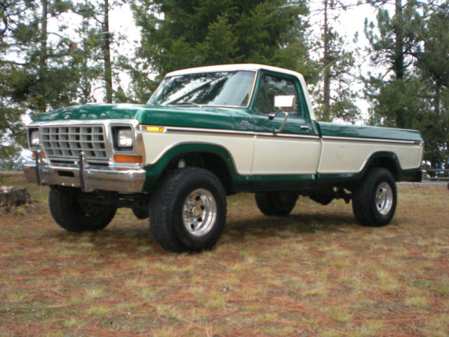 1978 Ford F250 4 X 4 Ranger Regular Cab Truck Classic