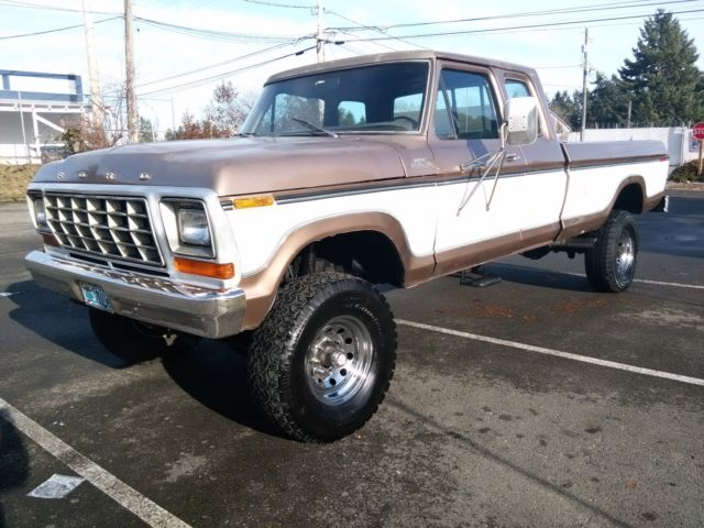 1978 Ford F250 Ranger Xlt Super Cab 4x4 Highboy Factory A C Worldwide No Reserve Classic Ford F 250 1978 For Sale