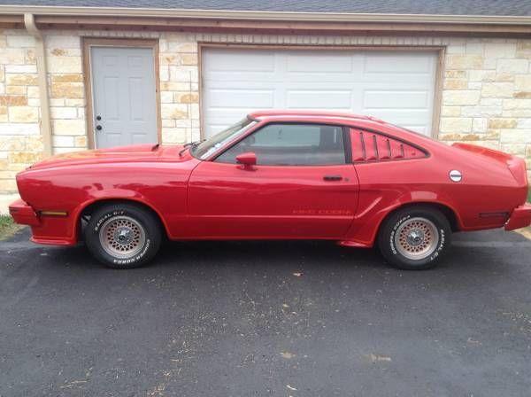 1978 Mustang Ll Cobra For Sale