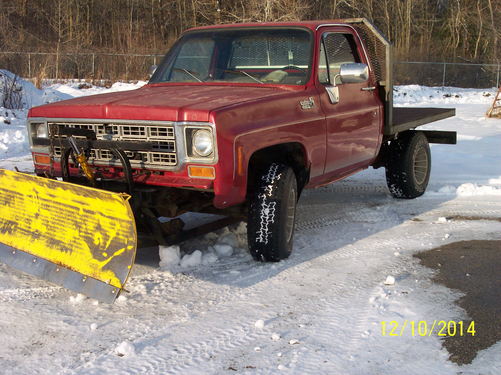 1978 Gmc 1500 4x4 Snow Plow Short Bed Dump Classic Gmc Other 1978 For Sale