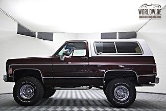 1978 GMC Blazer  Full Restoration  v8  custom high end build 4X4 new