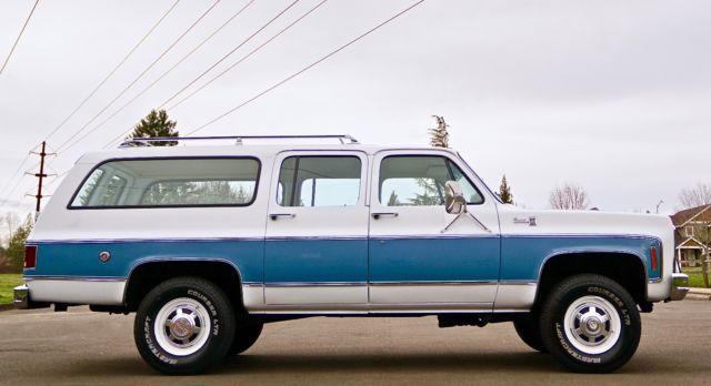 1978 GMC Sierra Suburban K2500 4x4 Barn Doors 1'Owner 20,000 Original Miles - Classic GMC ...