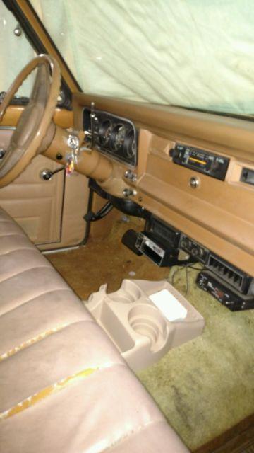 1978 Jeep Cherokee 4 Door Wagoneer Rebuilt Engine