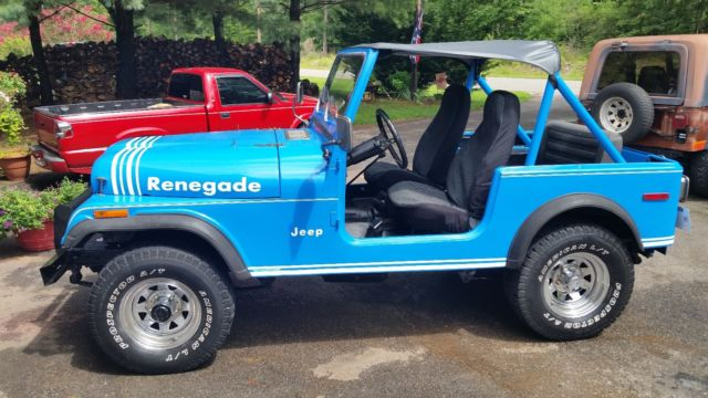 1978 jeep cj7 renegade classic jeep cj 1978 for sale. Black Bedroom Furniture Sets. Home Design Ideas