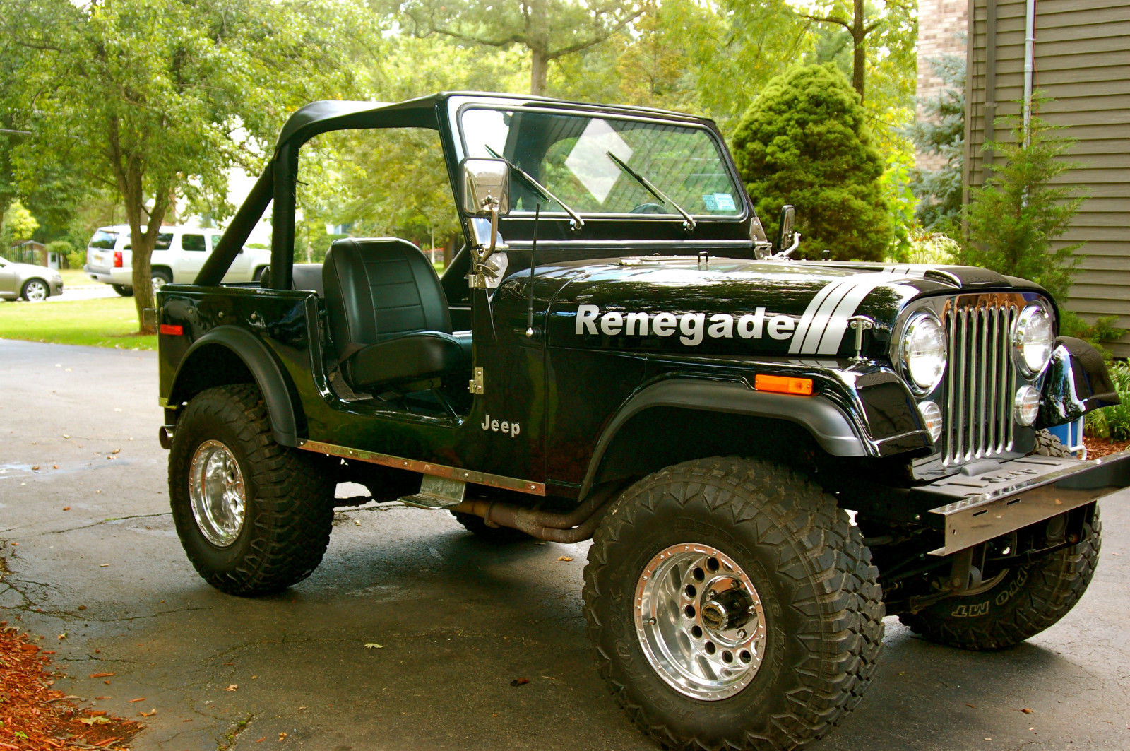 1978 jeep cj7 renegade restored clean v8 classic jeep other 1978 for sale. Black Bedroom Furniture Sets. Home Design Ideas